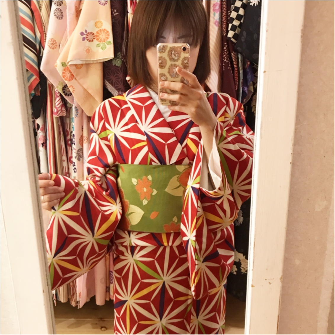 《小物・かんざし付きで¥2,900!》レンタル着物で浅草散策してきましたっ♡_2