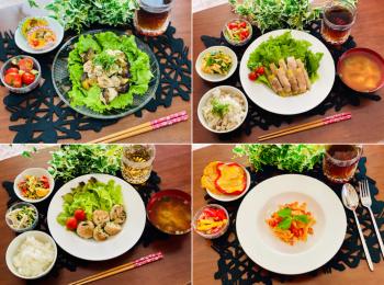 【今月のお家ごはん】アラサー女子の食卓!作り置きおかずでラク晩ご飯♡-Vol.17-