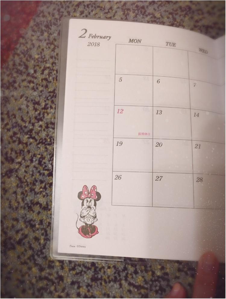 ♡ダイソーの手帳がすごい!!外だけじゃなく、中身もしっかり可愛い♡_2