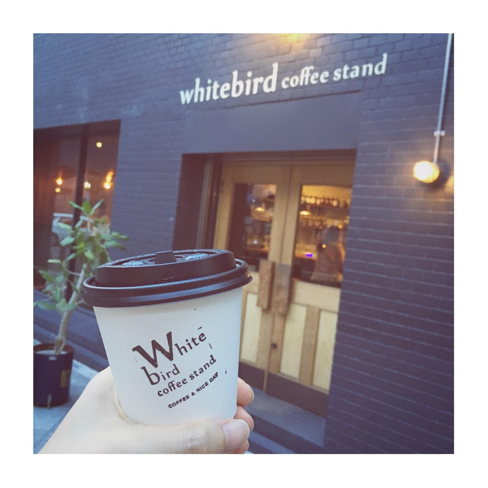 #7【#cafestagram】❤️:《大阪•梅田》バーのようなシックな空間で落ち着くカフェタイムを*「whitebird coffee stand」☻_1