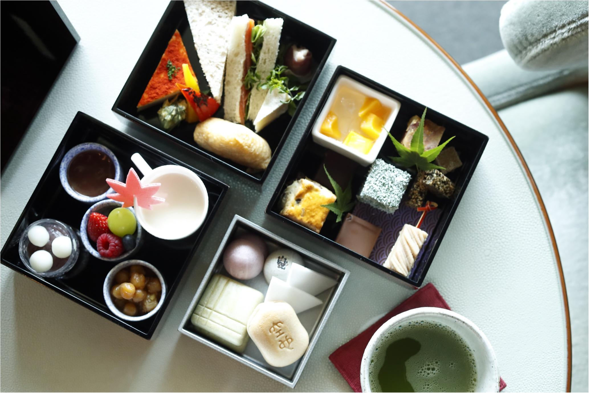 【9/1(金)〜11/30(木)限定】予約しないと買えない「空也もなか」入り! 『パレスホテル東京』の和アフタヌーンティーはSNS映え間違いなし♡_1