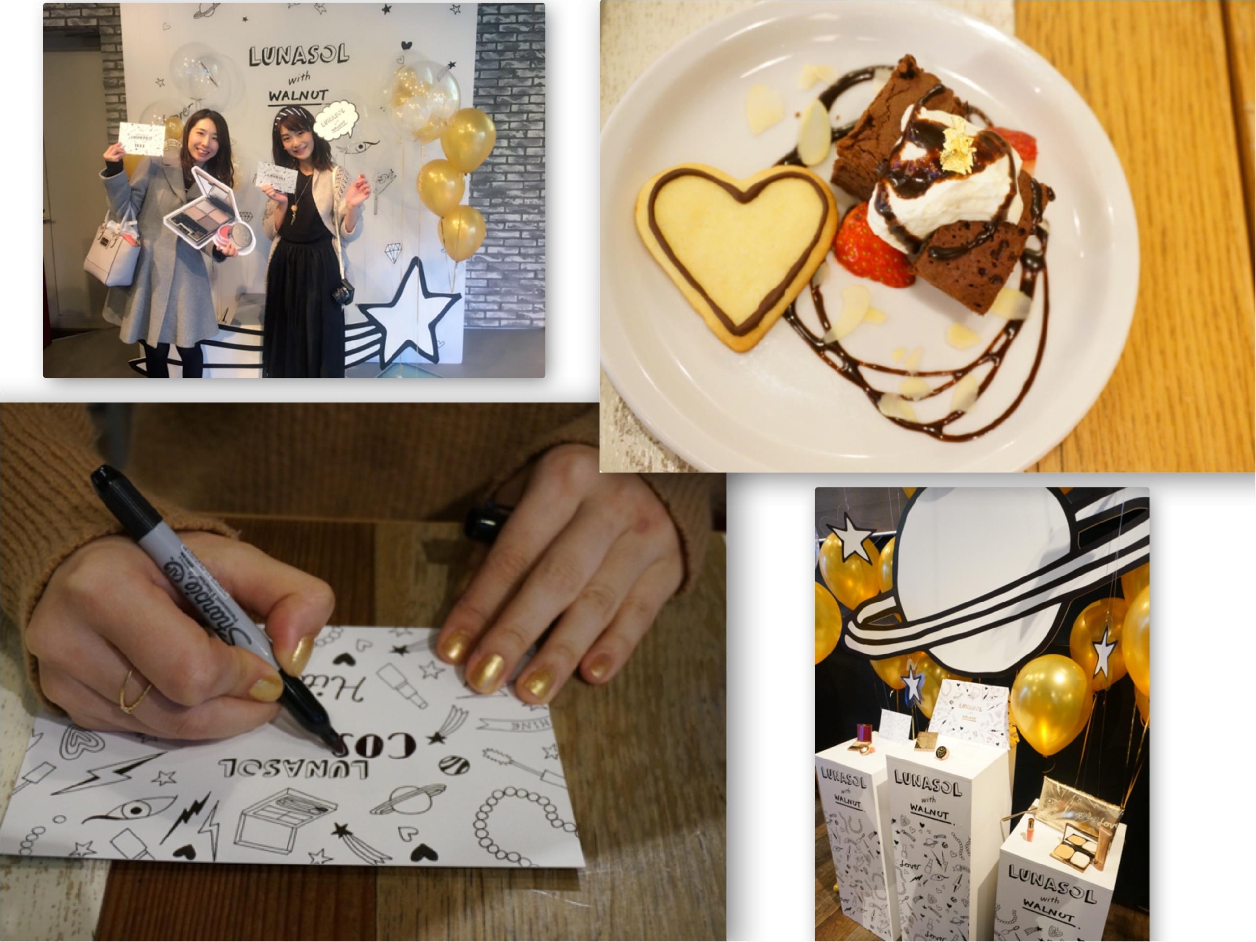 【LUNASOL-ルナソル-】大人気アイシャドウ10周年記念アイテムが可愛すぎるっ❤️《限定シークレットイベント》にいってきました!_9