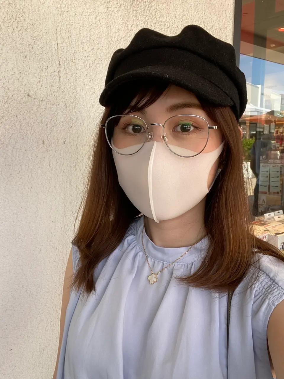 『JINS』のUVカットメガネ