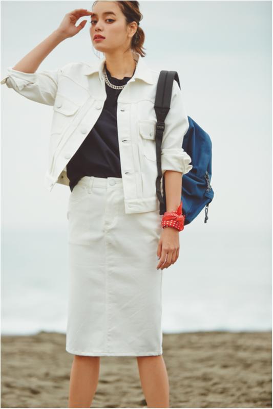 【セシルが着る白が素敵すぎる】大人カジュアルを目指すならクリアホワイト!_1