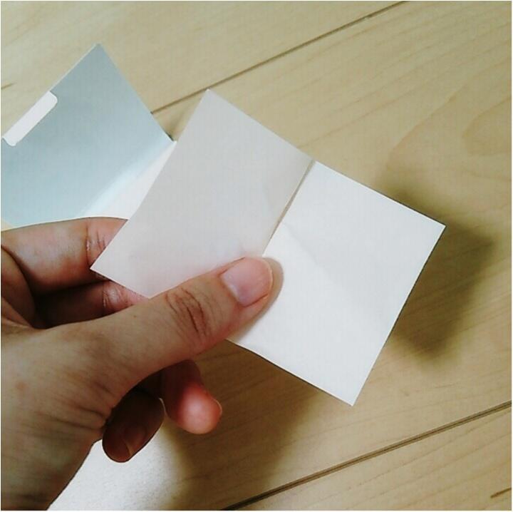 「京都」のお土産で欲しい物を聞かれたら迷わず答える【よーじや】のおしろい紙!!テカりを抑えて美肌に変身♪(443 まゆ_2