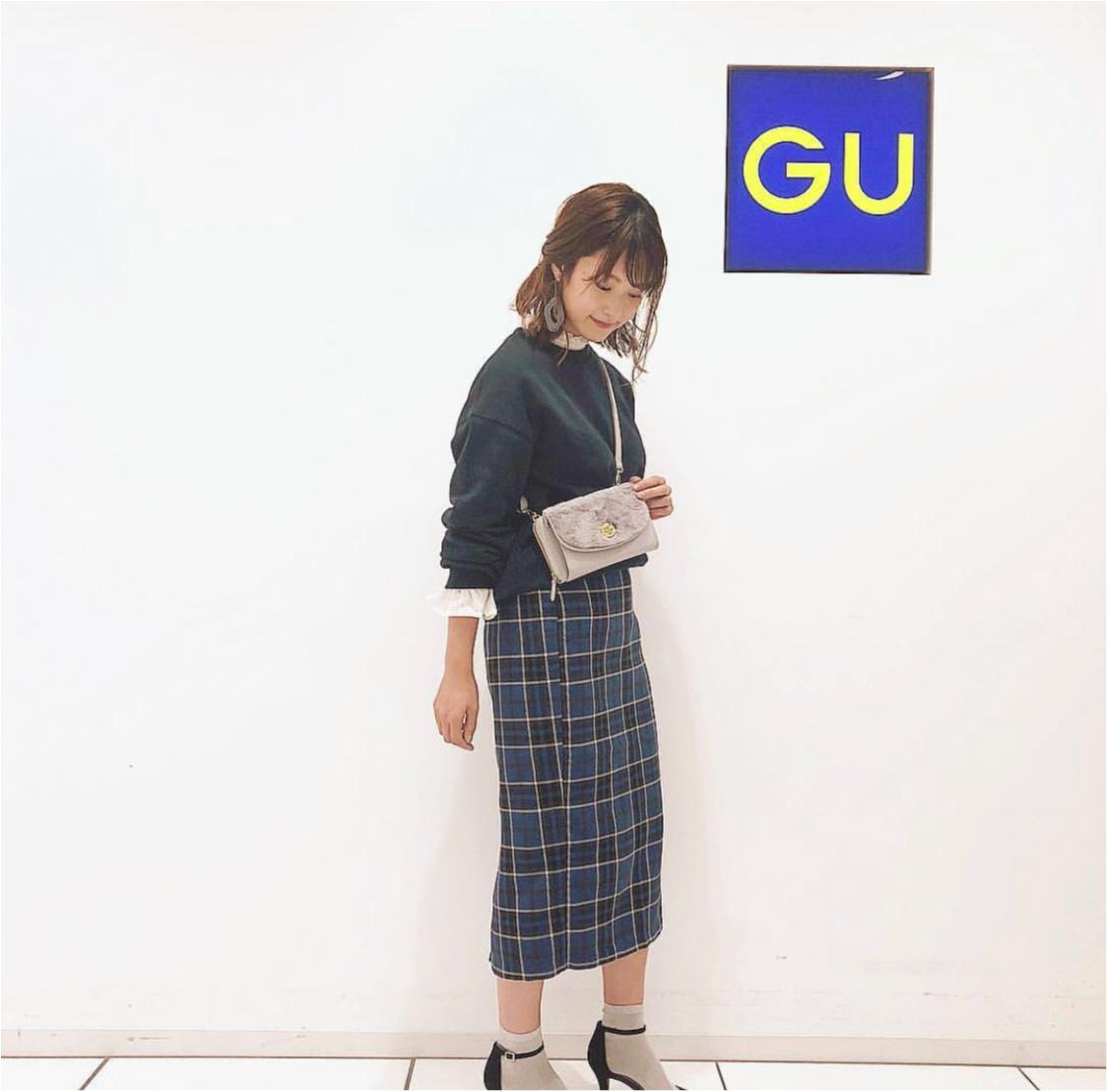 【GU】今の季節にぴったり❤️《マスト買いスウェット》3選!_5