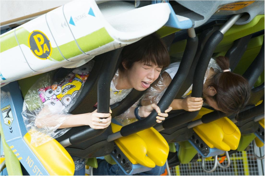 栞里、ユニバーサル・スタジオ・ジャパンで空を飛ぶ!【連載オフショット】_3