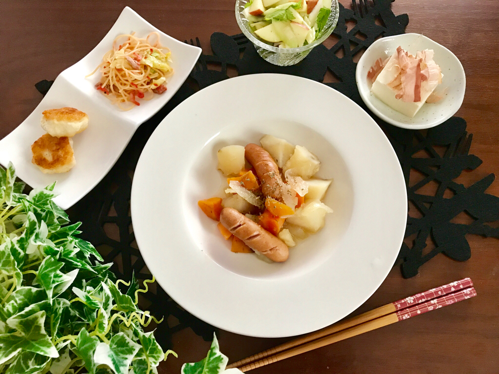 【今月のお家ごはん】アラサー女子の食卓!作り置きおかずでラクチン晩ご飯♡-Vol.1-_9