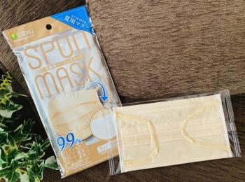 【不織布カラーマスク】暑い夏の味方!口元がガーゼで超快適!夏用マスクが優秀すぎ♡