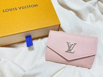【20代女子の愛用財布】ルイヴィトンの持ち運び便利な三つ折りミニ財布♡