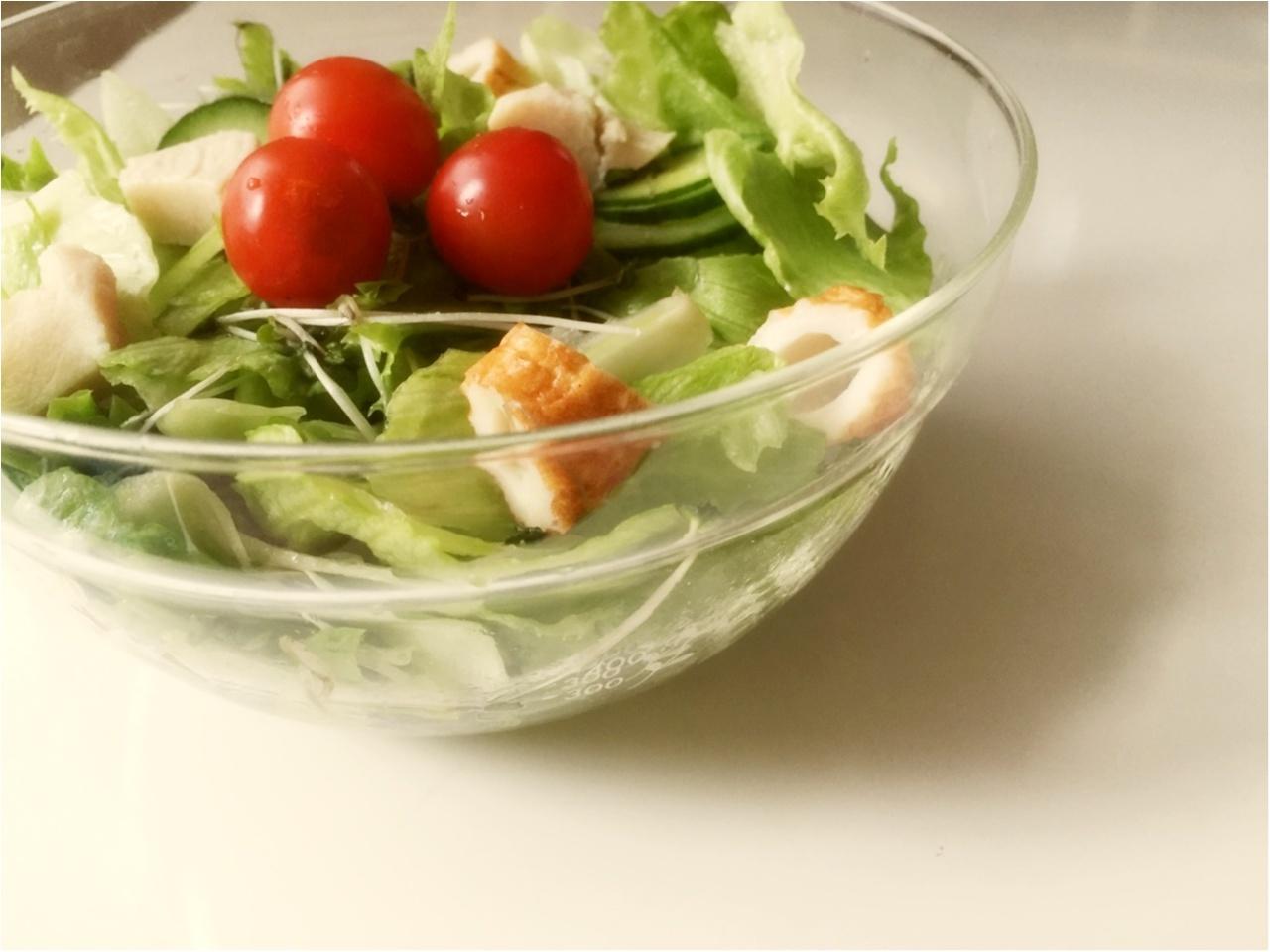 お野菜たっぷり!毎日サラダランチ♡*_5