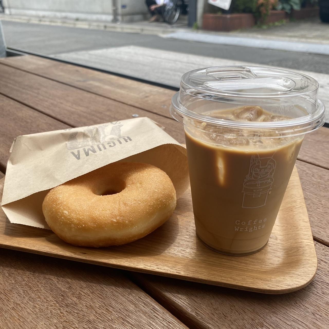 【表参道カフェ】ドーナツのふわふわ感がすごい!木の空間がお洒落《ヒグマドーナツ》へ♡_6