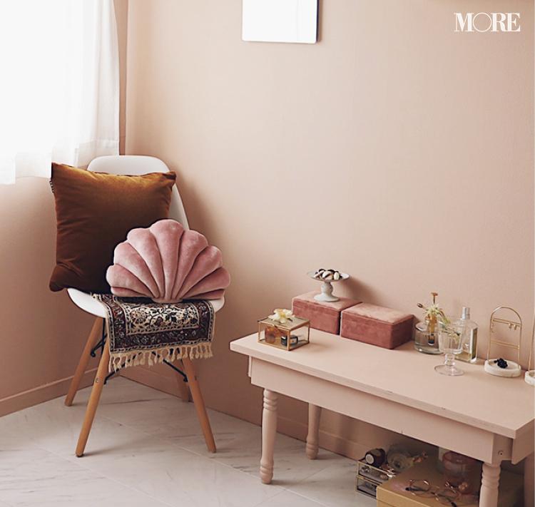 壁や床をDIY♡ 『楽天ROOM』『Francfranc』『イケア』などでインテリアや雑貨も厳選した、おしゃれなピンクの部屋作りに注目_3