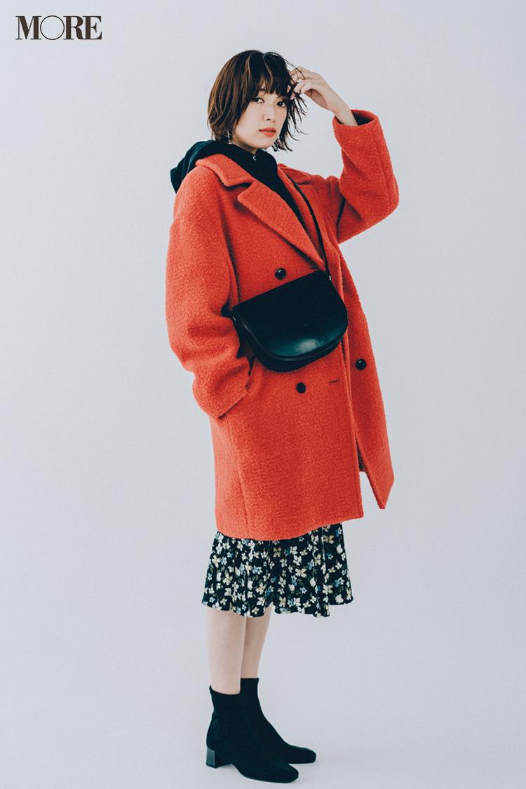 スカート、ニットにコートも! 冬のきれいめ【GUコーデ】まとめ | ファッション_1_1