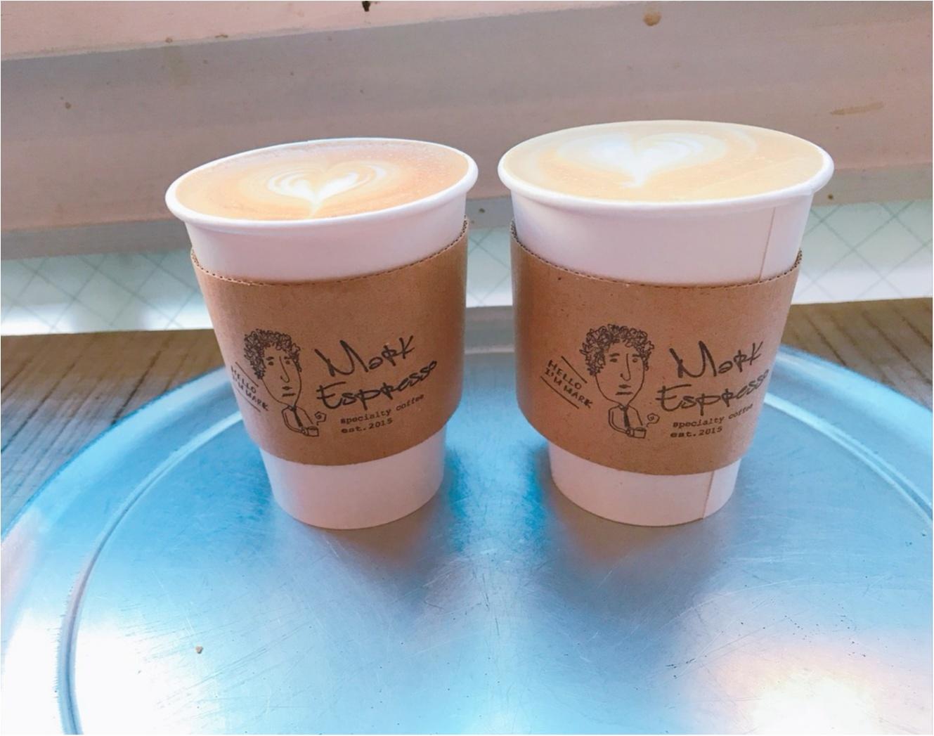 久しぶりにおいしいラテに出会いました!シンプルでおしゃれなカフェ発見♡_3