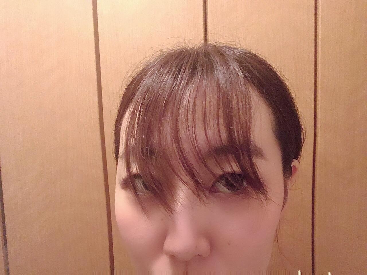 【セルフ前髪カット】ヒルナンデス!で栞里ちゃんも体験してた失敗しない切り方_2
