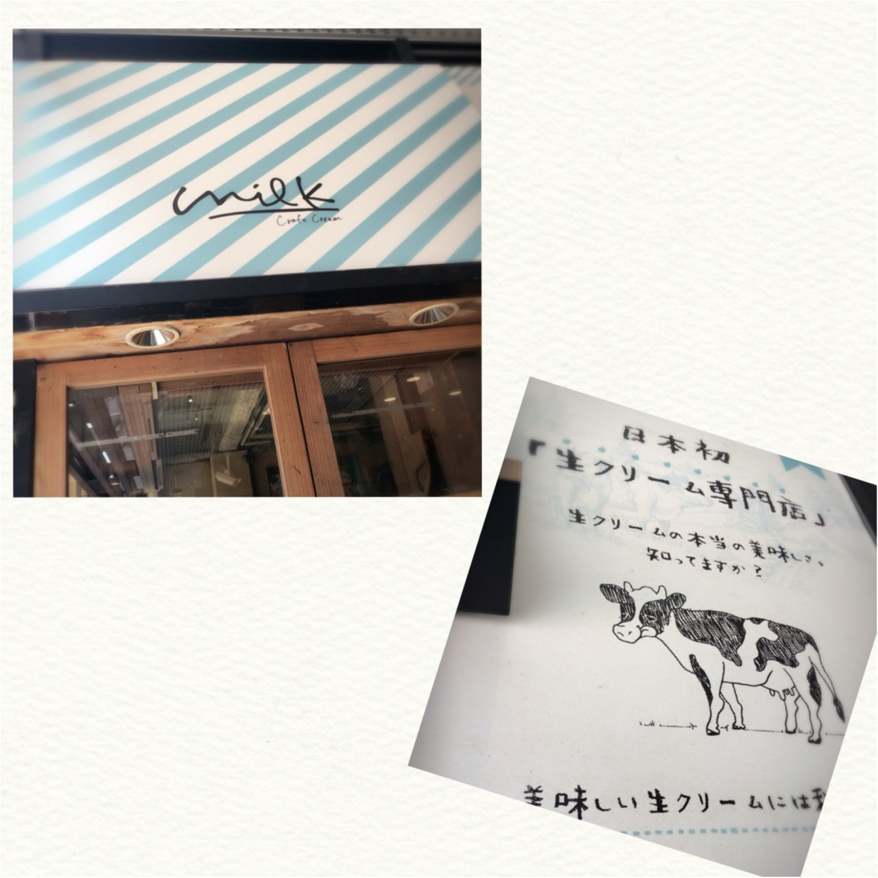 日本初!生クリーム専門店milkで食べる究極の生クリームスウィーツ♡_1