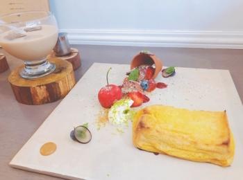 《大阪カフェ》「French Market」のふわふわフレンチトースト♡