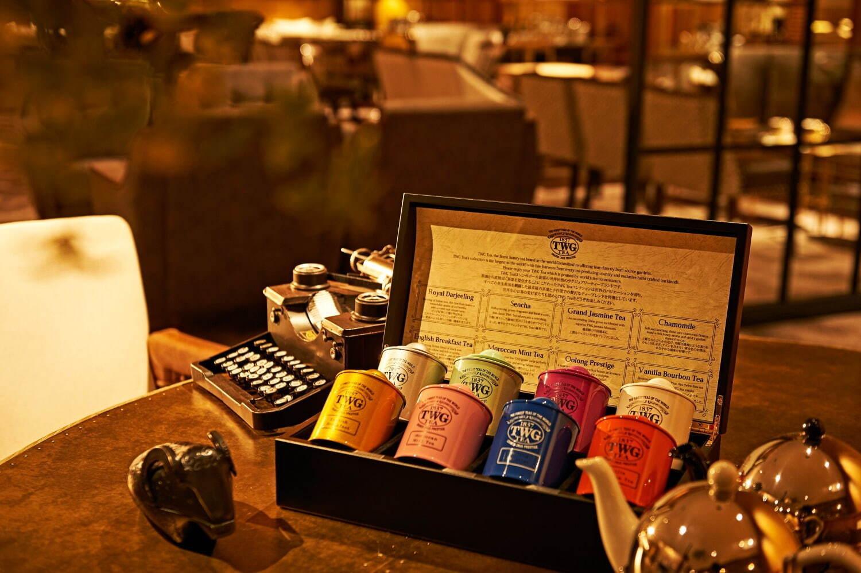 東京のアフタヌーンティーおすすめ「ロイヤルバイオレット アフタヌーンティー」セットのTWG紅茶