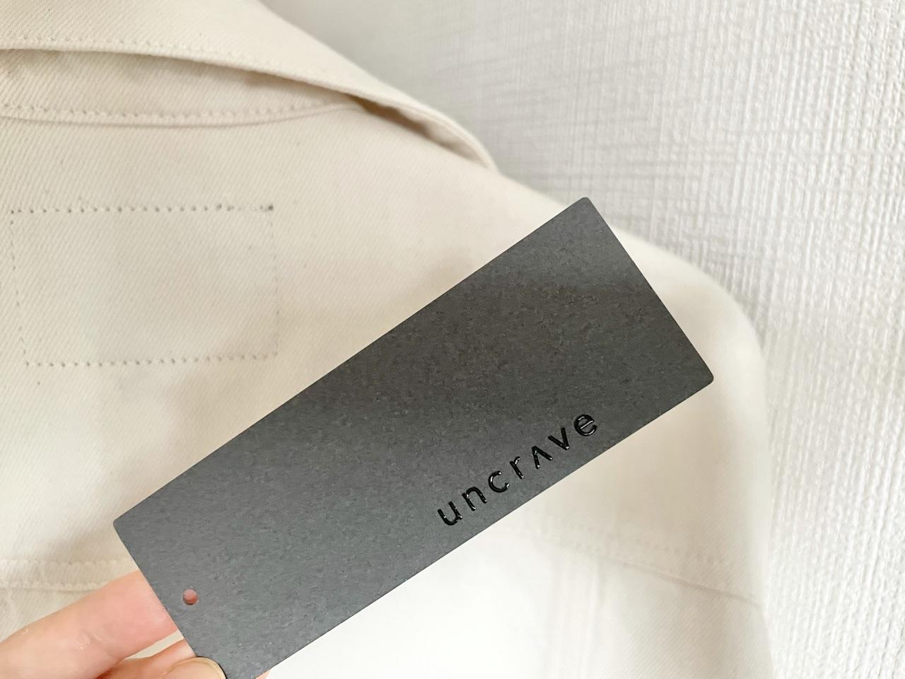 【春服】《uncrave》から待望のデニムシリーズが登場!白ジャケットで爽やかなお出かけコーデ♡_1