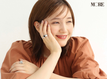 本田翼のとっておきスマイルを特別公開♡【モデルのオフショット】