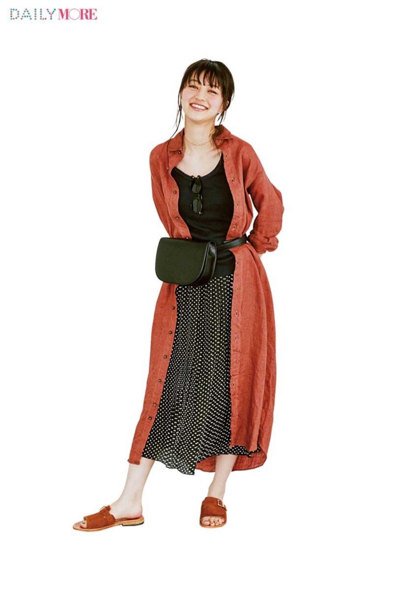 【どこにでも行ける、誰からも褒められる】新生活に『フラワーデイズ』のドット柄スカートがあるといい理由。_3
