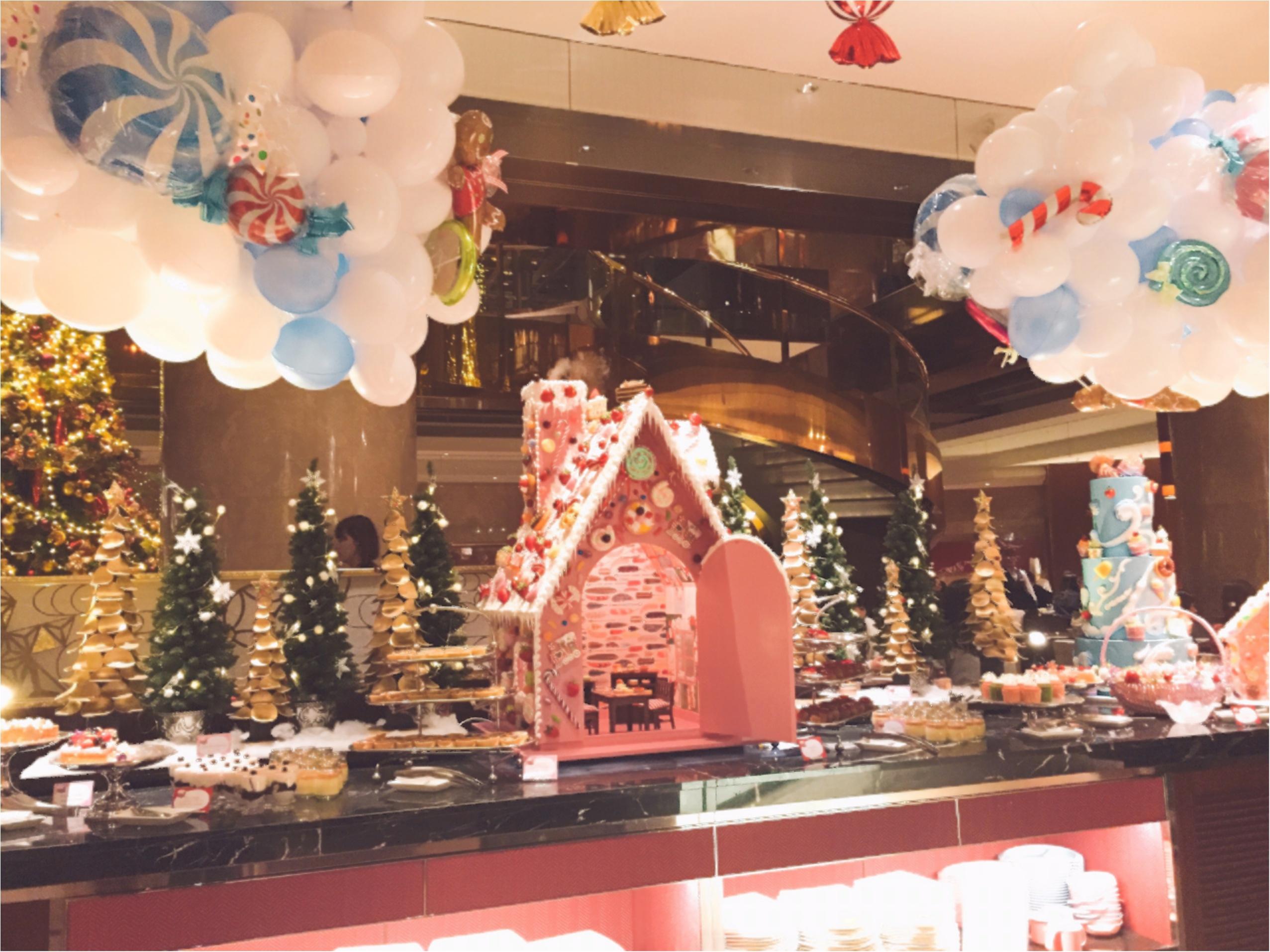 毎回大人気!ヒルトン東京のデザートブッフェ!夢のような『お菓子の家』の世界へ…♡*_2