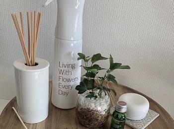 【my room】お花のある生活