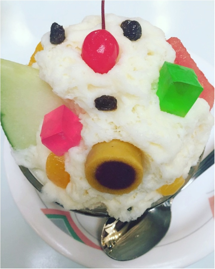 【氷白熊】鹿児島に行ったらコレ食べなきゃ!!オススメのお店は白熊の本家『天文館〇〇〇〇』≪samenyan≫_3