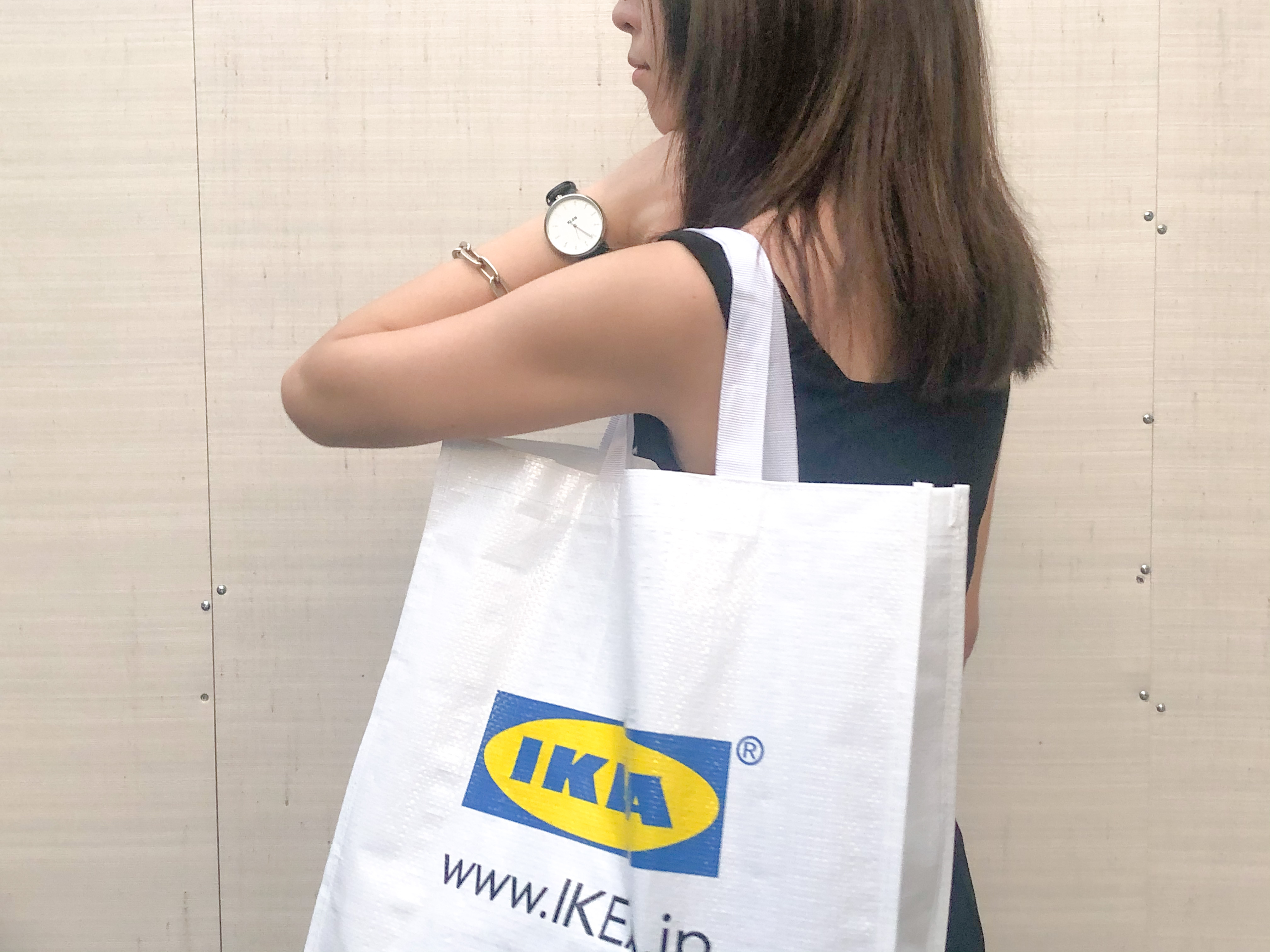 【エコバッグ】199円!丈夫でかわいい「IKEA」のKLAMBY(クラムビー)が超つかえる♡_2