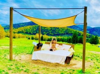 【星野リゾートトマム】大自然を満喫!牧草ベッド・お昼寝ハンモックetc.癒し体験がいっぱい★
