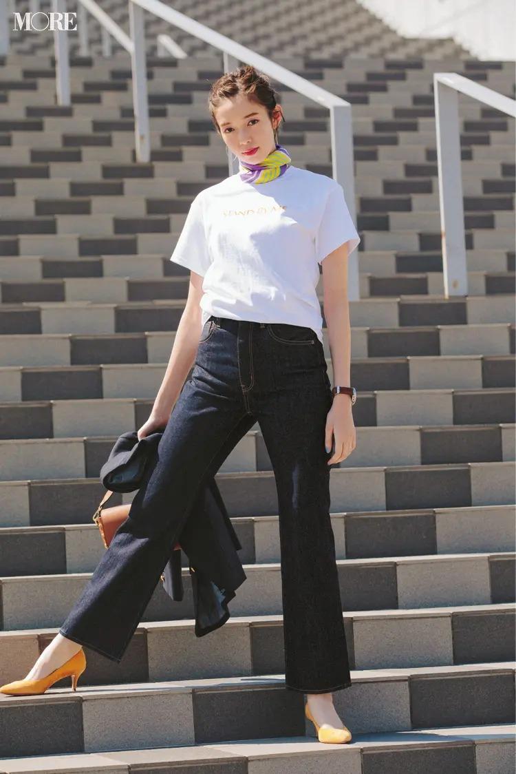 この夏真似したい!デニムの着こなし6選&スタイリストのおすすめ白Tコーデ【今週のファッション人気ランキング】_3