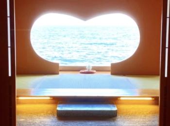 【ハート型の窓からは海!】女子旅にもおすすめな写真映え旅館
