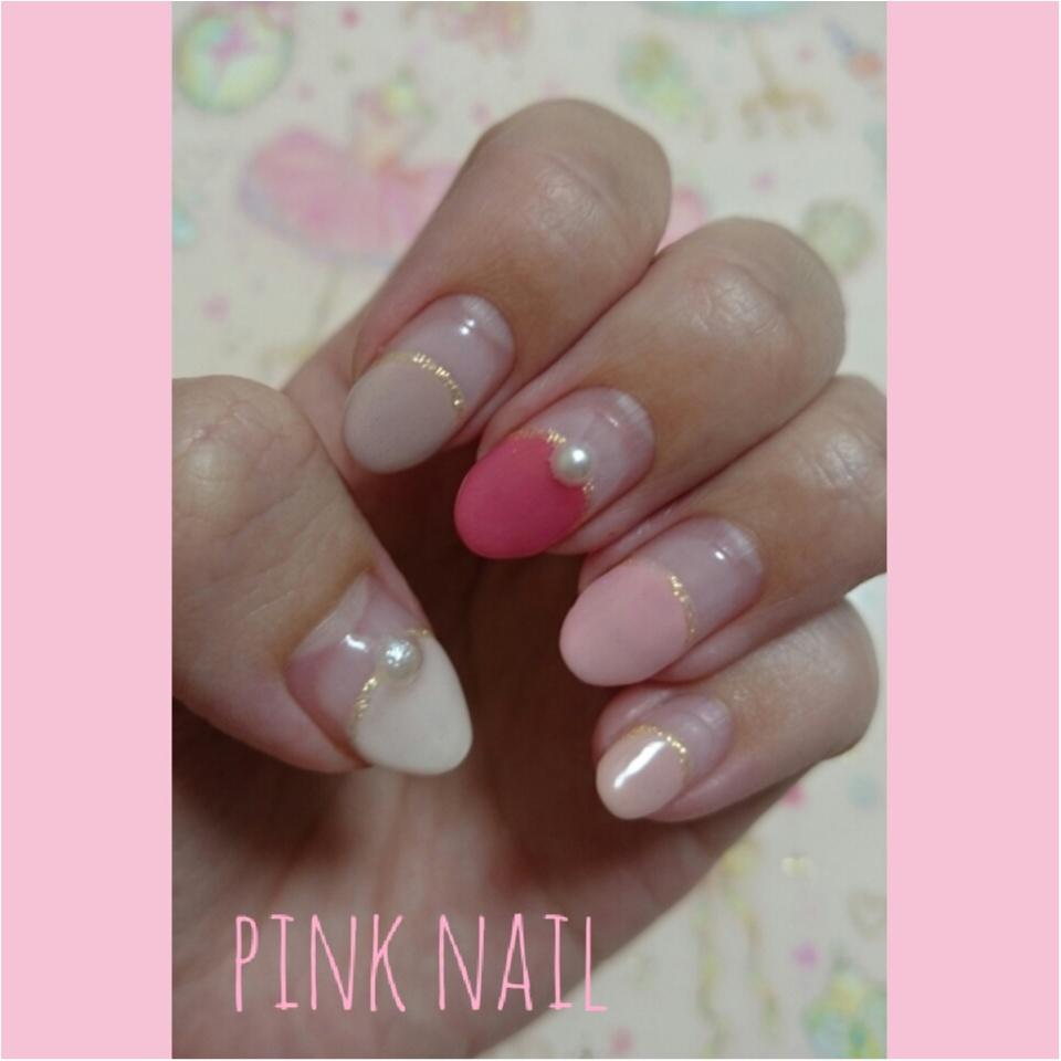 【春といえばやっぱりピンク♡】ネイル・シューズ・コスメで春じたくはじめましょ♡_3