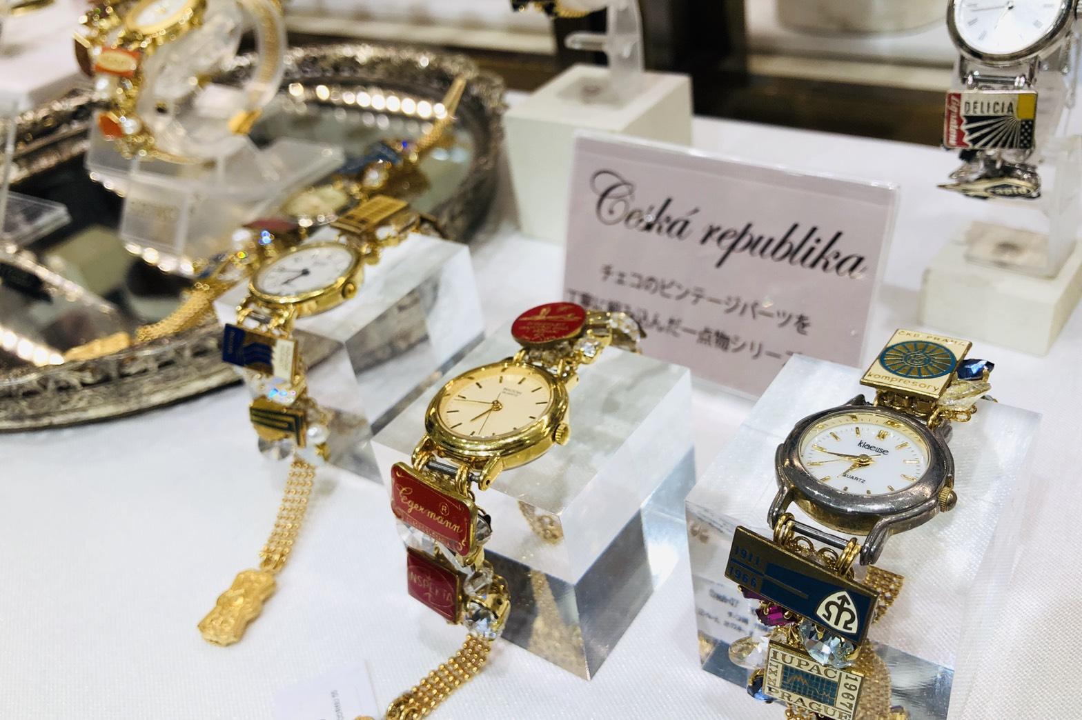 【ヒカリエ:ヴィンテージアクセ】CORNU(コルヌ)の時計もアクセも可愛すぎる!【一点物】_1
