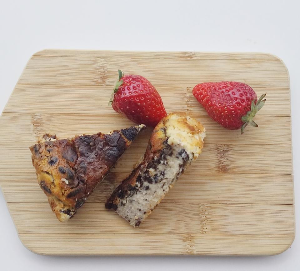 【簡単美味しい】クッキークリームverのバスクチーズケーキを作ってみました!_7