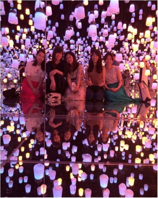 【お台場】チームラボのデジタルアートミュージアムは写真を撮りたくなるスポットがたくさん♡_3