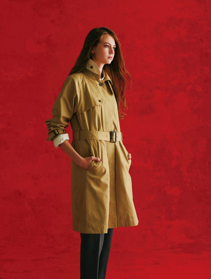 トレンチとスカートが超優秀。ウワサのブランド「セットプルミエ」って!?_1