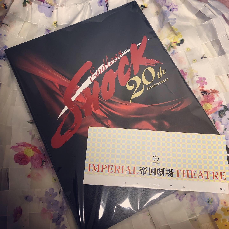 """憧れのミュージカル!""""Endless SHOCK""""を観劇してきました♡_3"""
