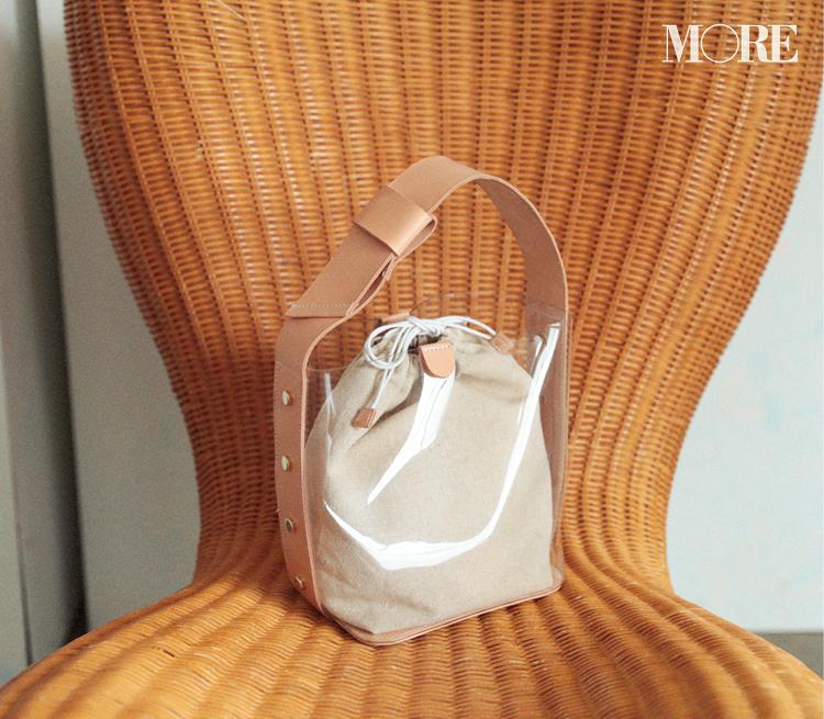 """ALL 1万円以下♡ PVCもかごも巾着も、""""持つだけで映える""""バッグだけ集めてみた!_1_8"""