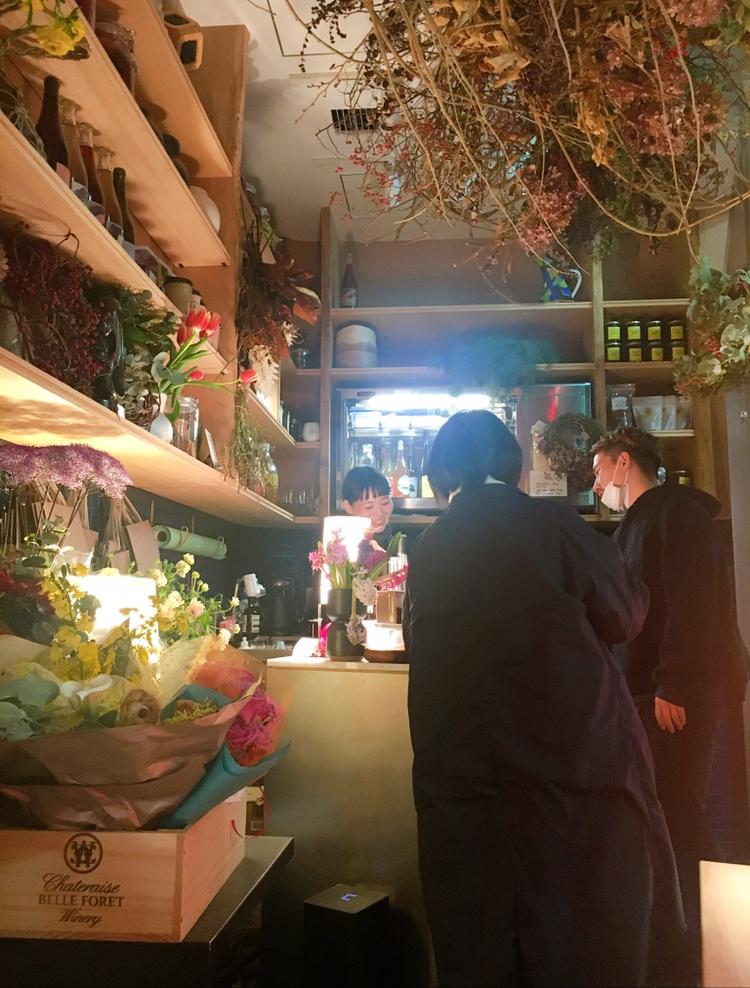 【渋谷PARCO】お花屋さん×ワインスタンド♡THE LITTLE BAR OF FLOWERSで癒しのひととき♪_5