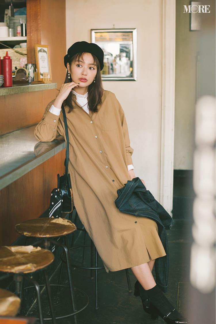 シャツワンピースの着こなし術【2020春】- 今年イチオシの色・形は? とびきり今っぽくておしゃれな最新ファッションまとめ_10