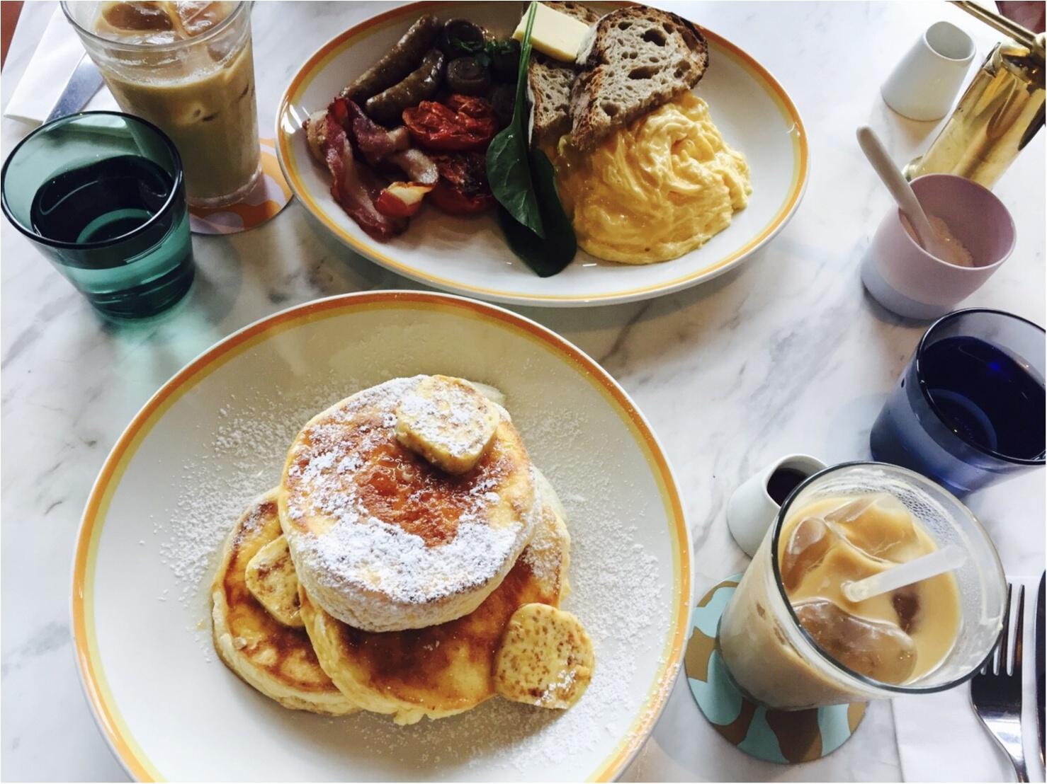 【世界一の朝食】で有名な、bills銀座店へ♡♡_10