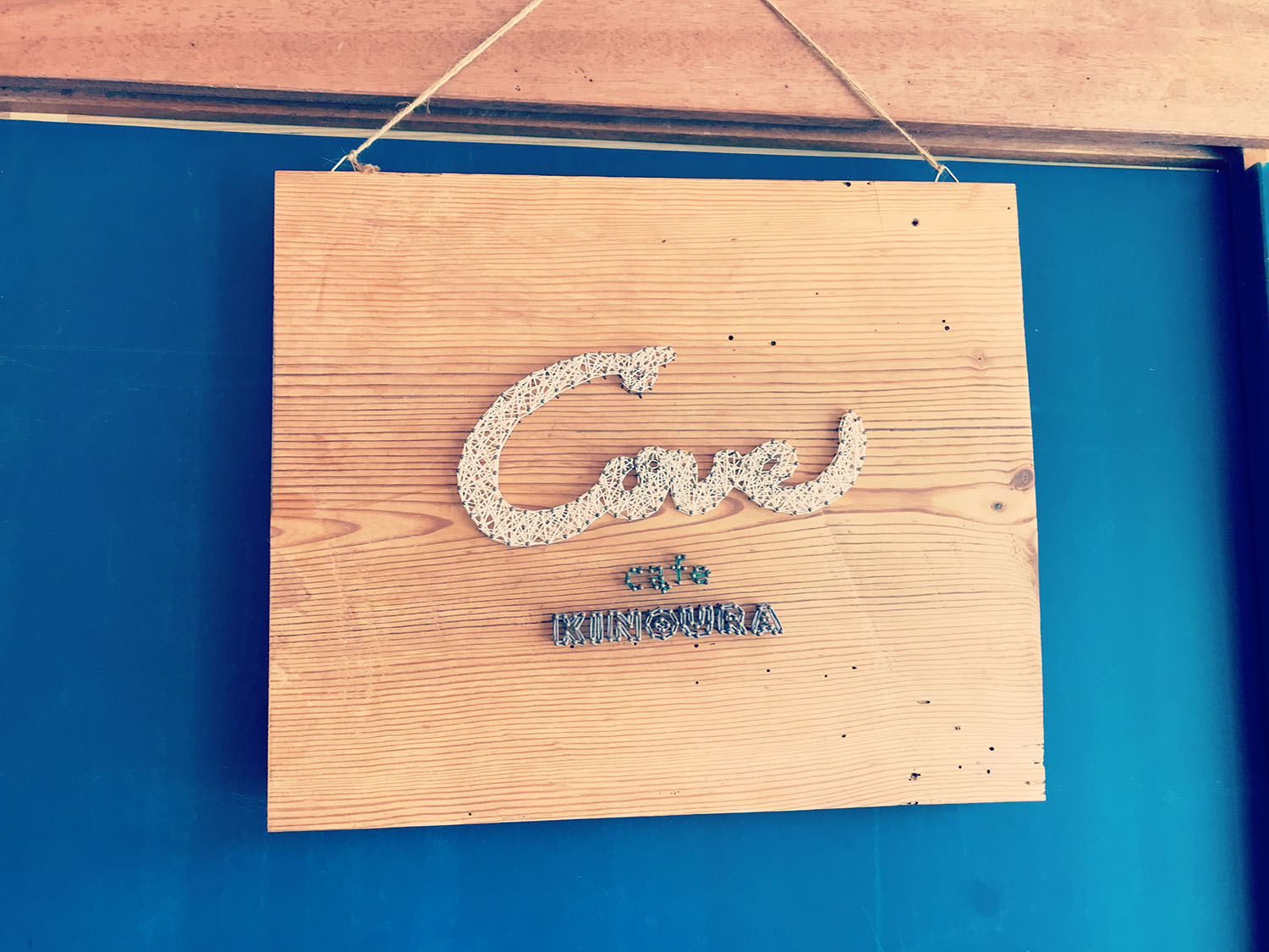 Cafe Coveの装飾