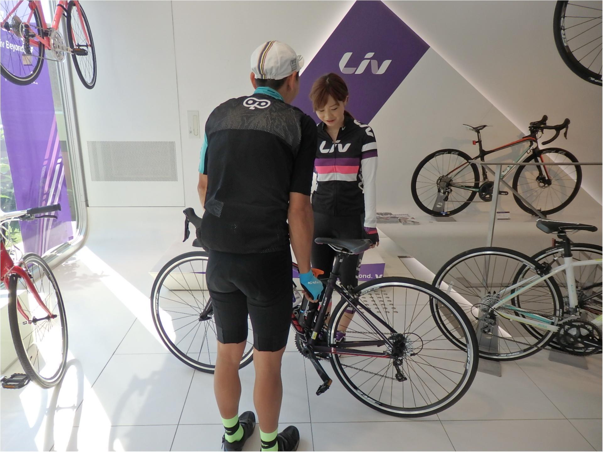 ロードバイク初体験!元オリンピック選手からしっかり教わります!#ツール・ド・東北【#モアチャレ あかね】_6