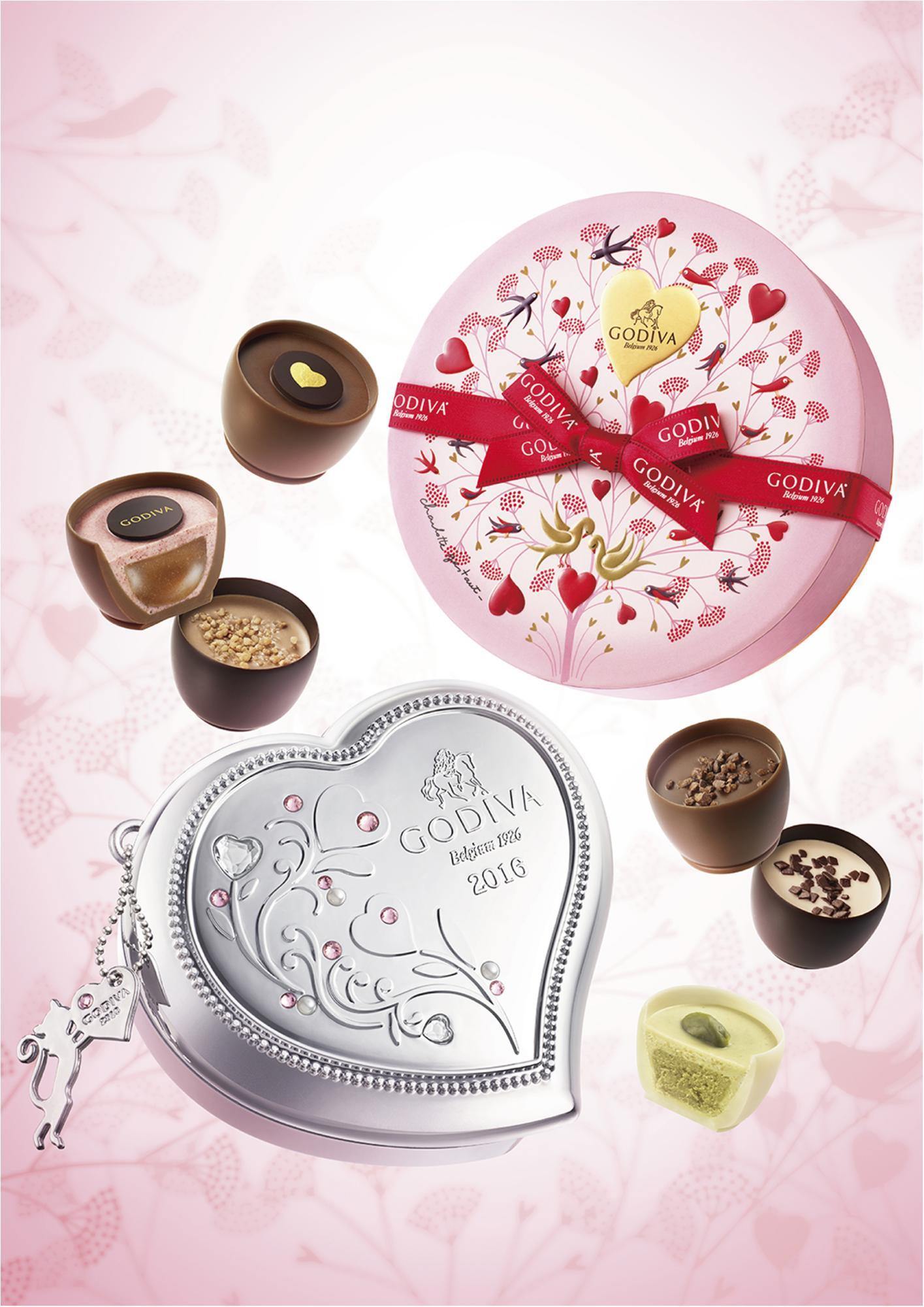 誰に贈っても喜ばれるのは、やっぱり『GODIVA』のチョコレートでしょ!_1