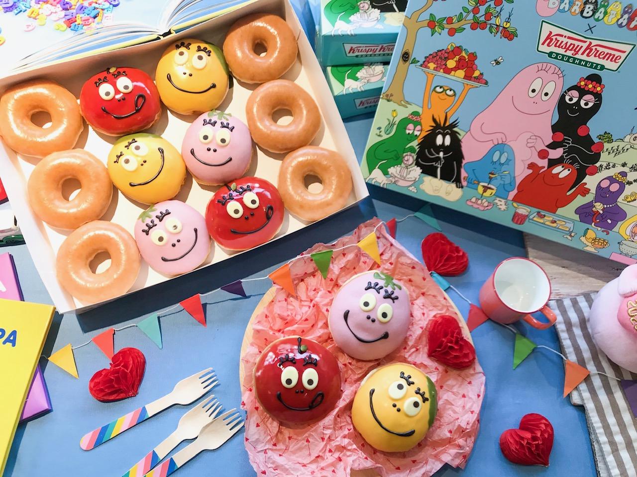 『クリスピー・クリーム・ドーナツ』の期間限定ドーナツに、バーバパパコラボが登場。可愛くてフルーティーな味わいにきゅん♡ PhotoGallery_1_1
