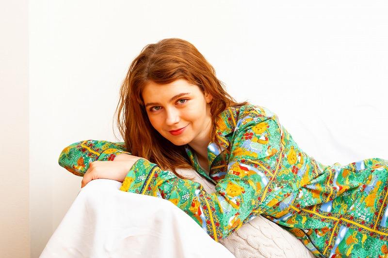 『ポール & ジョー』カントリーベアパジャマを着用した画像