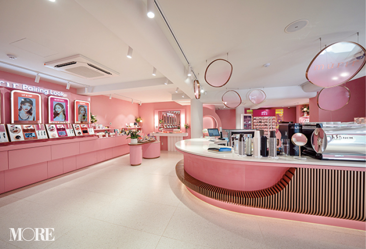 韓国旅行で絶対訪れたい最旬ビューティアドレス8選♪ 美術館のような『Huxley』、カフェ併設の『ミュリ』など、映えて楽しい体験型ショップ_14
