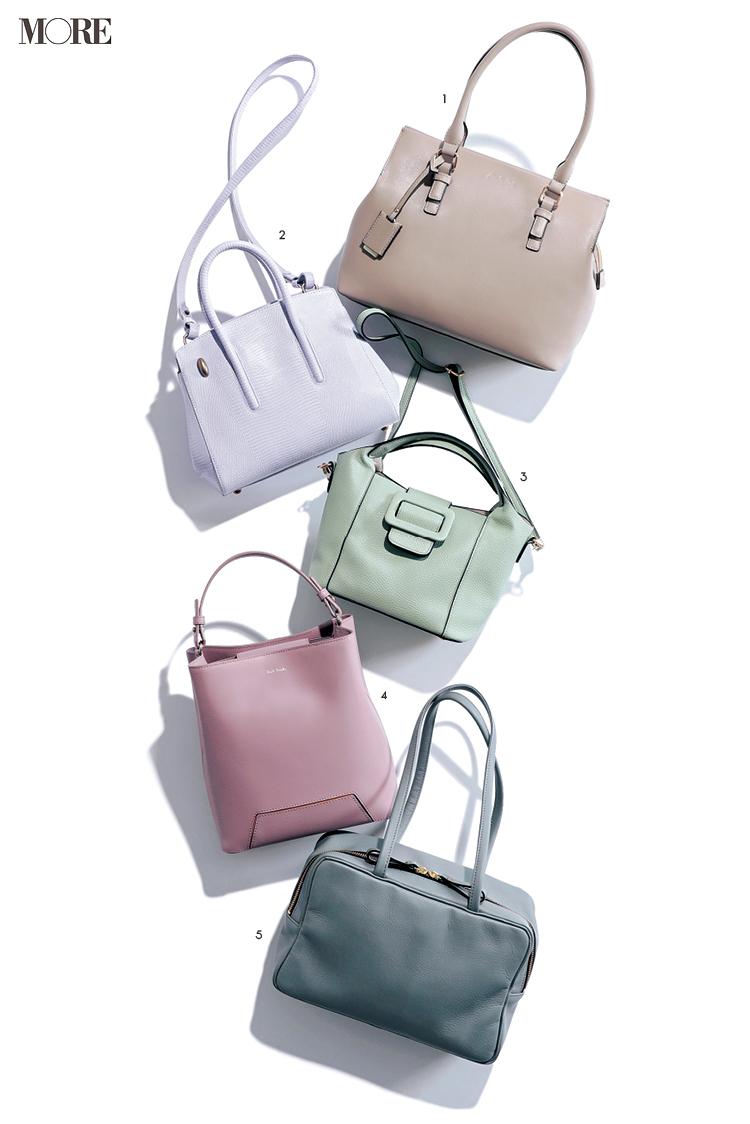 通勤バッグをお探しの皆様、新しいきれい色「くすみパステル」のバッグはいかがですか?_2